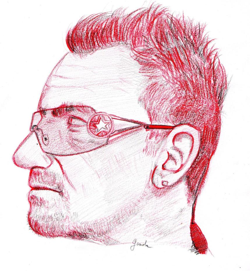 Bono Vox by GiadaC