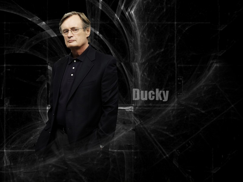 "David McCallum (Dr. Donald ""Ducky"" Mallard)"