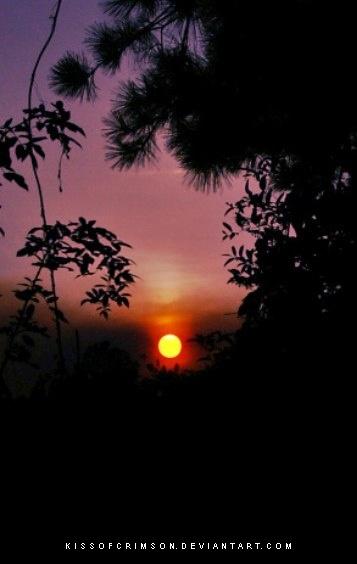 Sunset by KissofCrimson