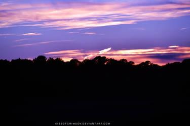 Purple Sunset by KissofCrimson