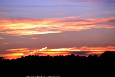 Purple Sunset II by KissofCrimson