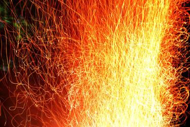 Fire Embers IV by KissofCrimson