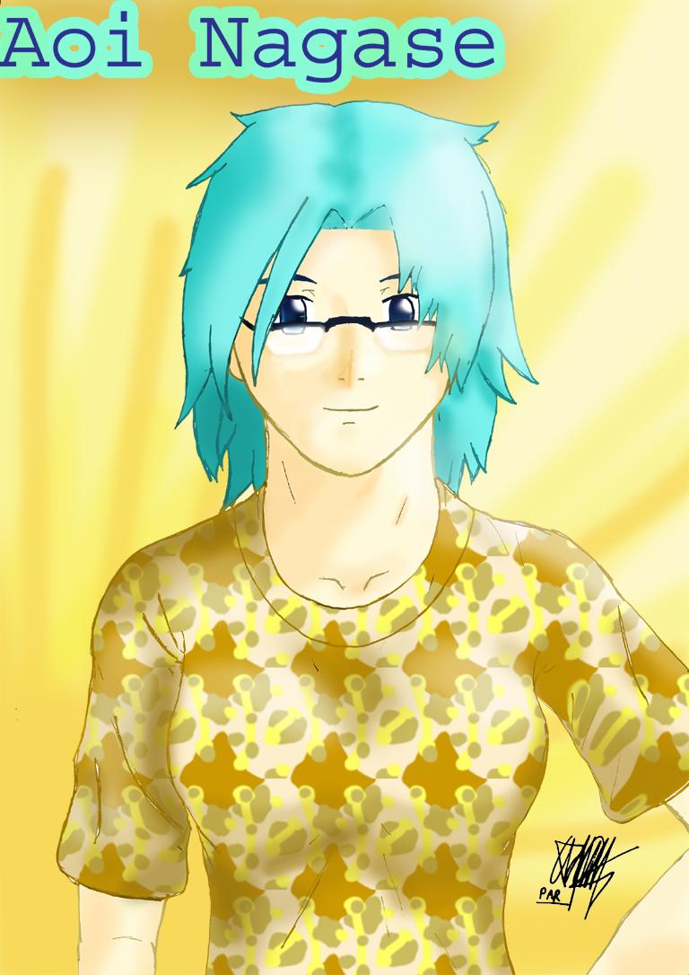 Lieutenant Quetzal Aoi Nagase by Prafa-AR