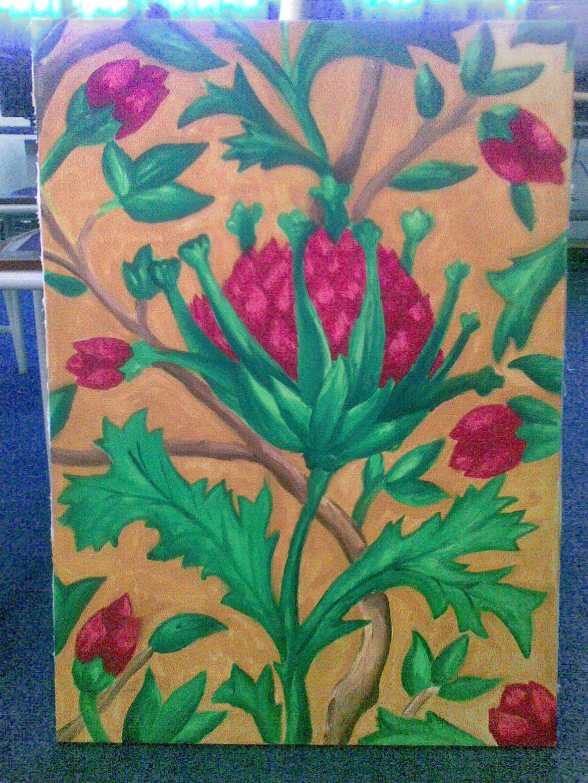 My Flower painting by Prafa-AR