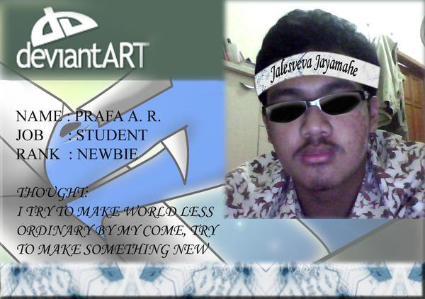 MY ID by Prafa-AR