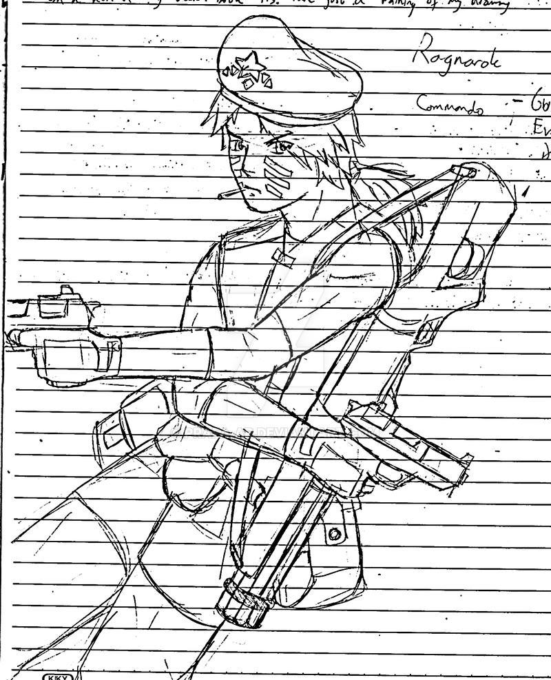 Gunslinger JOB2 by Prafa-AR