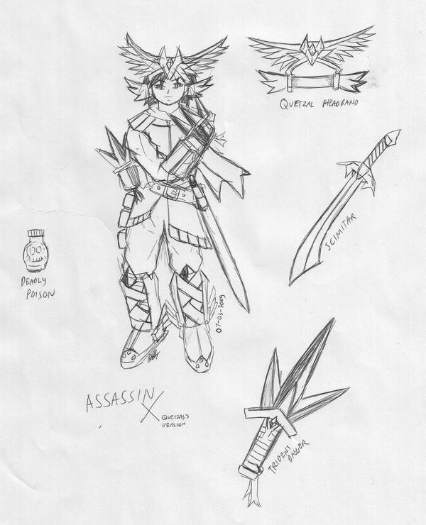 Assasin Cross quetzal style by Prafa-AR