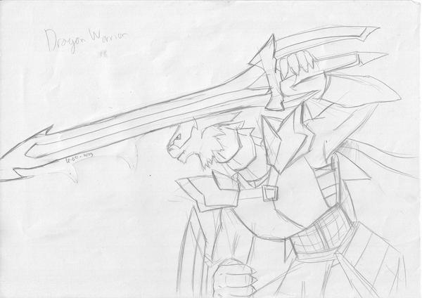 Dragon warrior by Prafa-AR