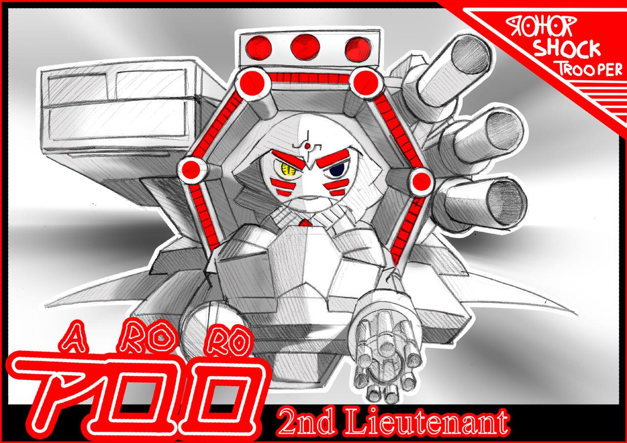 Aroro 2nd Lieutenant by Prafa-AR