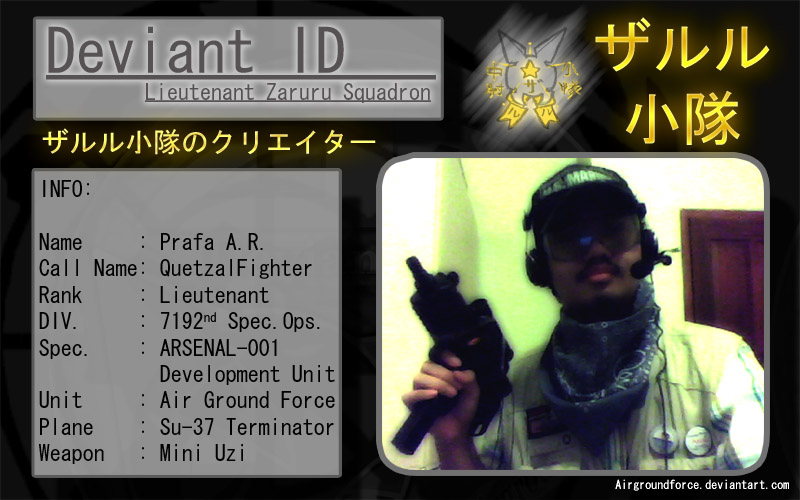 My New Deviant ID by Prafa-AR