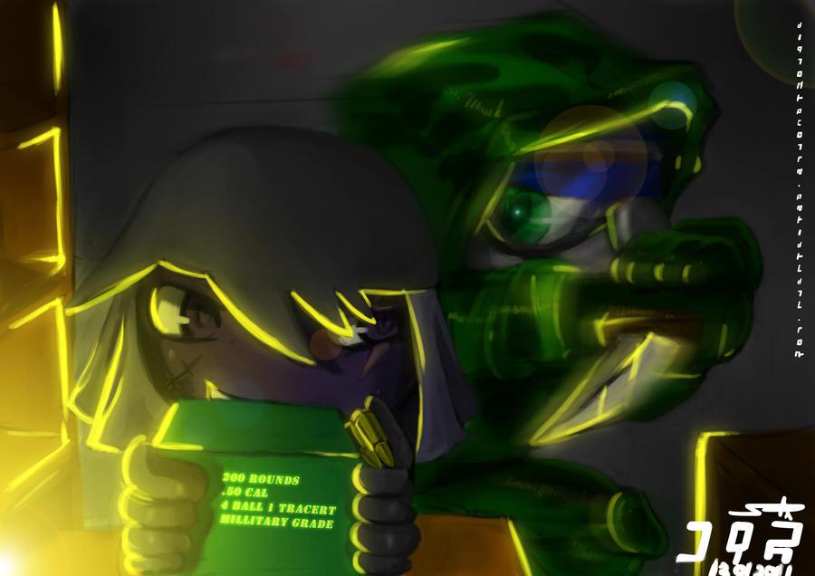 Bandits Fight by Prafa-AR