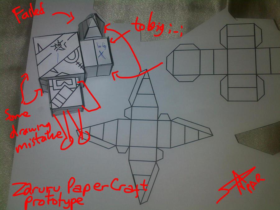 Zaruru Paper Craft Prototype by Prafa-AR