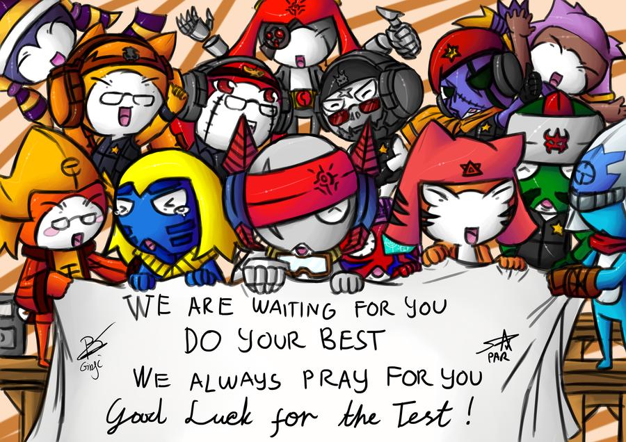 We Support You- by Prafa-AR