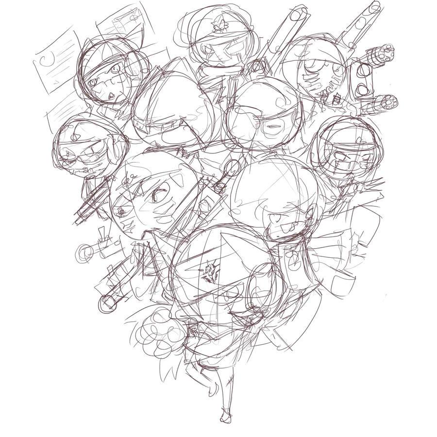 Sketch- Zaruru 37564 by Prafa-AR
