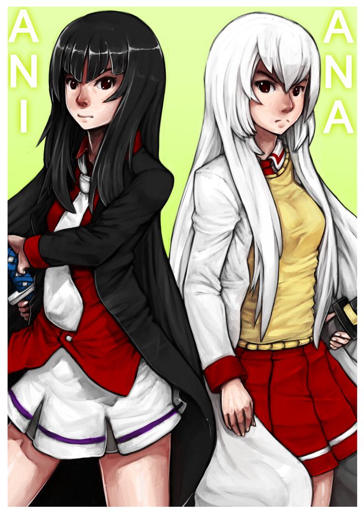 Ana and Ani by Prafa-AR