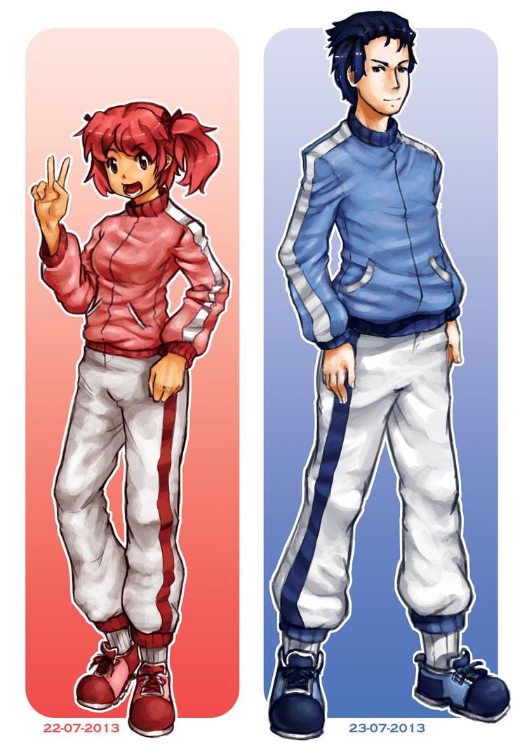 Sport Clothes by Prafa-AR
