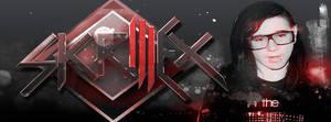 Skrillex Facebook Cover by fueledbychemicals