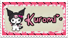 Kuromi Stamp by krishnagee