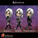 Descendants OC: Aphrodite Outfits