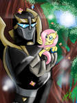 Prowl and Fluttershy
