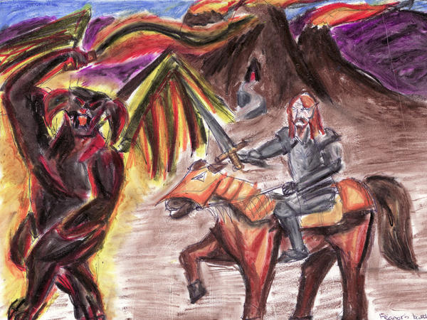 http://fc01.deviantart.com/fs15/i/2007/039/2/7/feanor_against_the_balrog_by_lyness.jpg