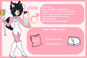 ~Tokie Reference Sheet (RE)~ by TokieTheDeadGuy