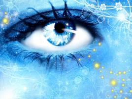 Icy Eye by Silaynne