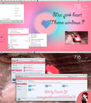 Theme Mac Pink Heart by me