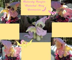 Fluttershy Batpony aka Flutterbat by Satokit
