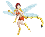 Dragonfly girl (v.2)