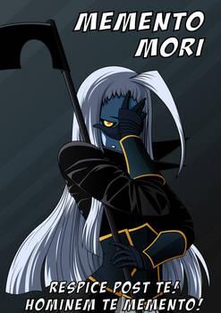 Memento mori (motivation poster)