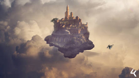 Castle in the Sky by 4kdesigns