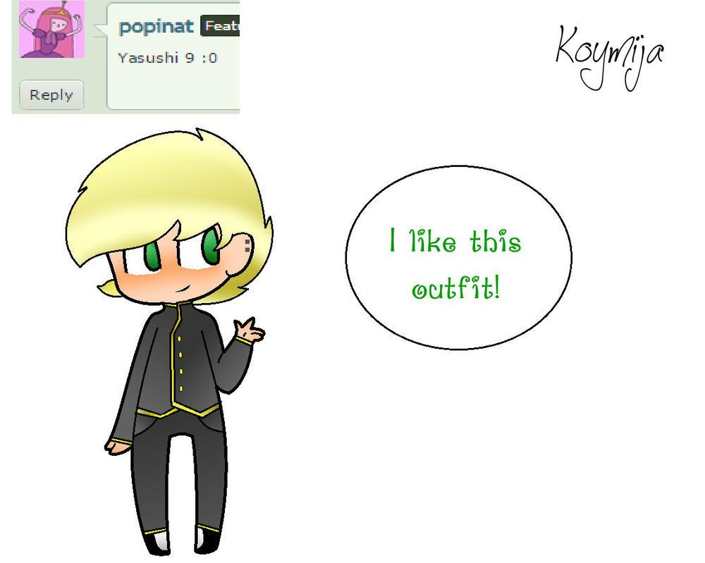 Fancy Yasushi! (FANART/ IDK) by KoyMija