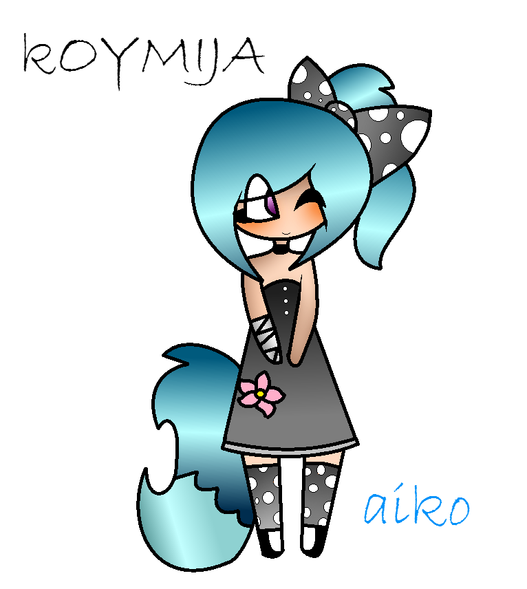 Aiko! (new oc!) by KoyMija