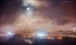 Moonrise by MaciejKarcz