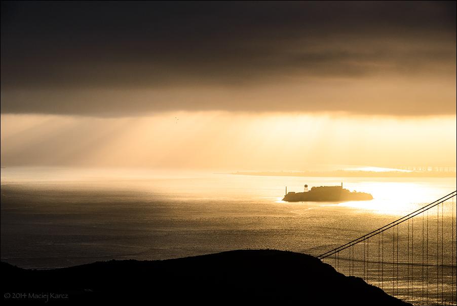 Alcatraz Island by MaciejKarcz