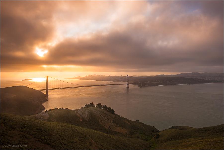 Golden Gate by MaciejKarcz