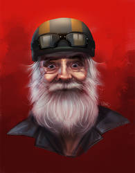 Old man by superschool48