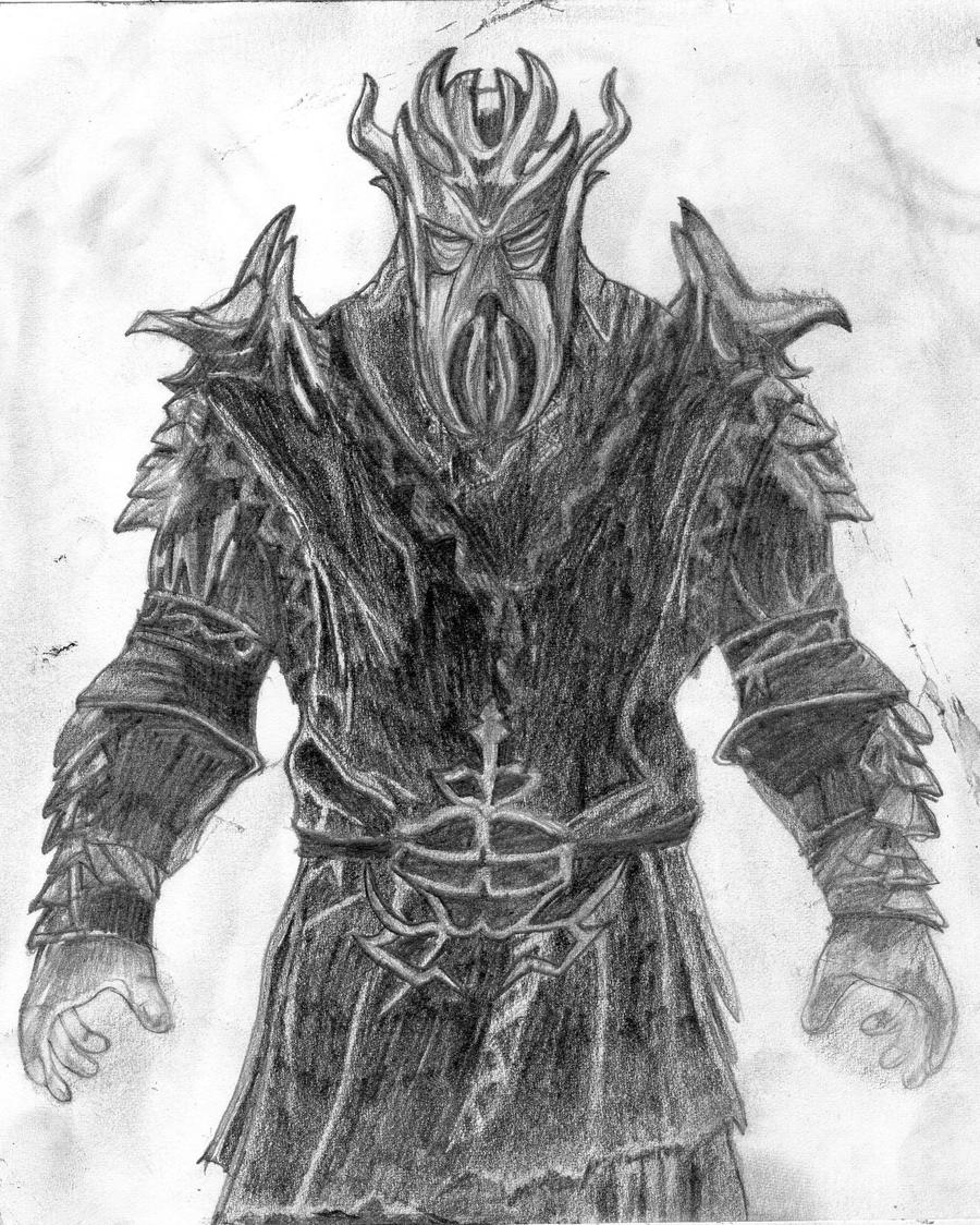 above is skyrim drawing - photo #43
