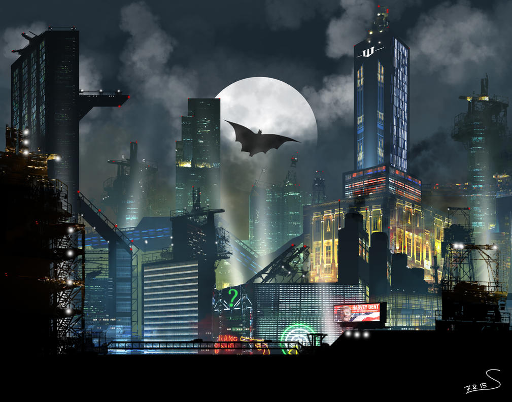 Gotham Series  TV Tropes