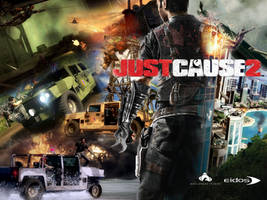 Just Cause 2 Action Wallpaper by Birdie94jb