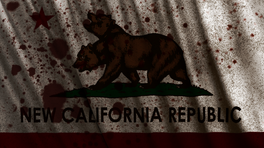 Fallout New California Republic Flag Wallpaper By Birdie94jb