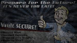 Fallout: Vault Boy Billboard Wallpaper