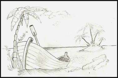 Au bord de l'eau by MaelikR