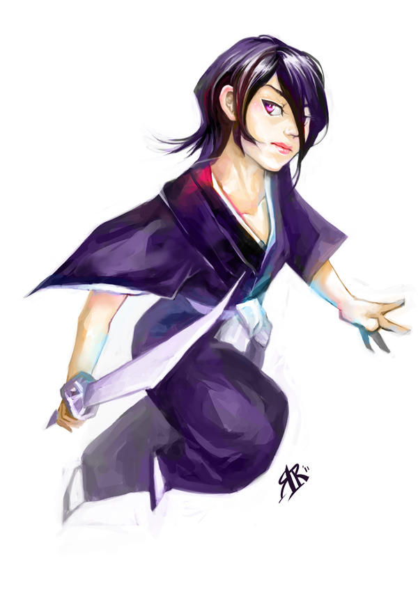 R is for Rukia by RamblingRhubarb