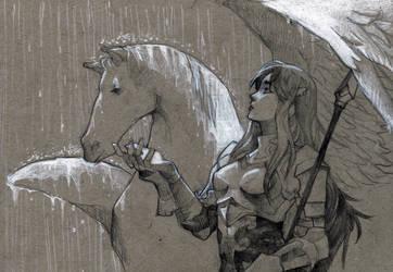 Cordelia's Umbrella by RamblingRhubarb