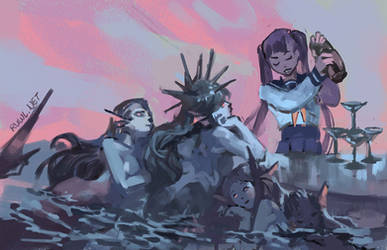 Mermaid bar [164/365] by RamblingRhubarb