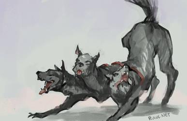 Downward dog [167/365] by RamblingRhubarb