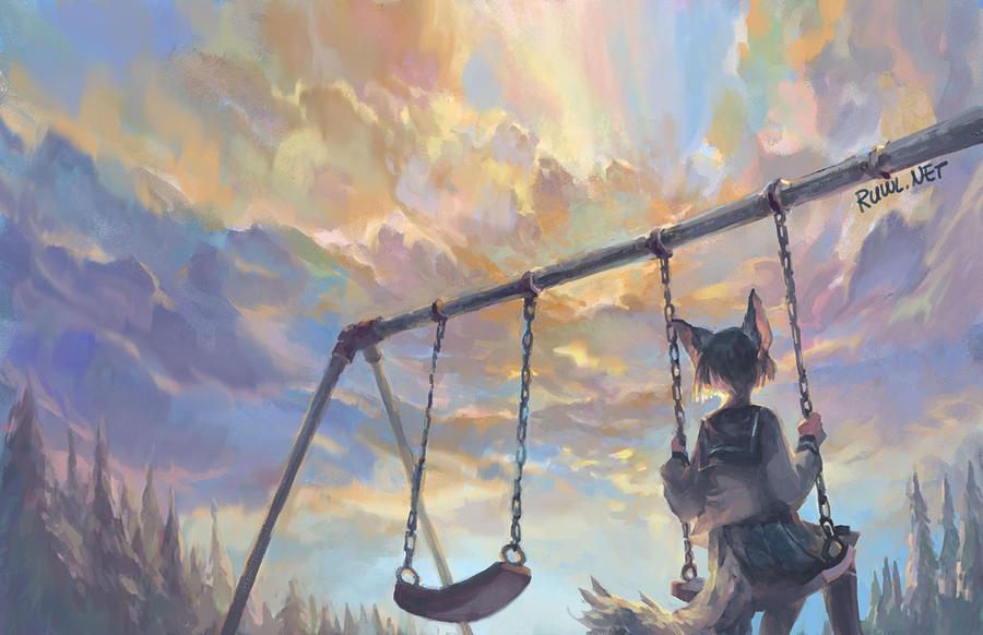 Repaint 159: Hole in the sky [168/365] by RamblingRhubarb