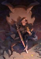 Conqueror Corrin: Fire Emblem Fates Fanart